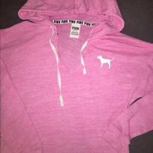 Pink Victoria's Secret sweatshirt NWOT